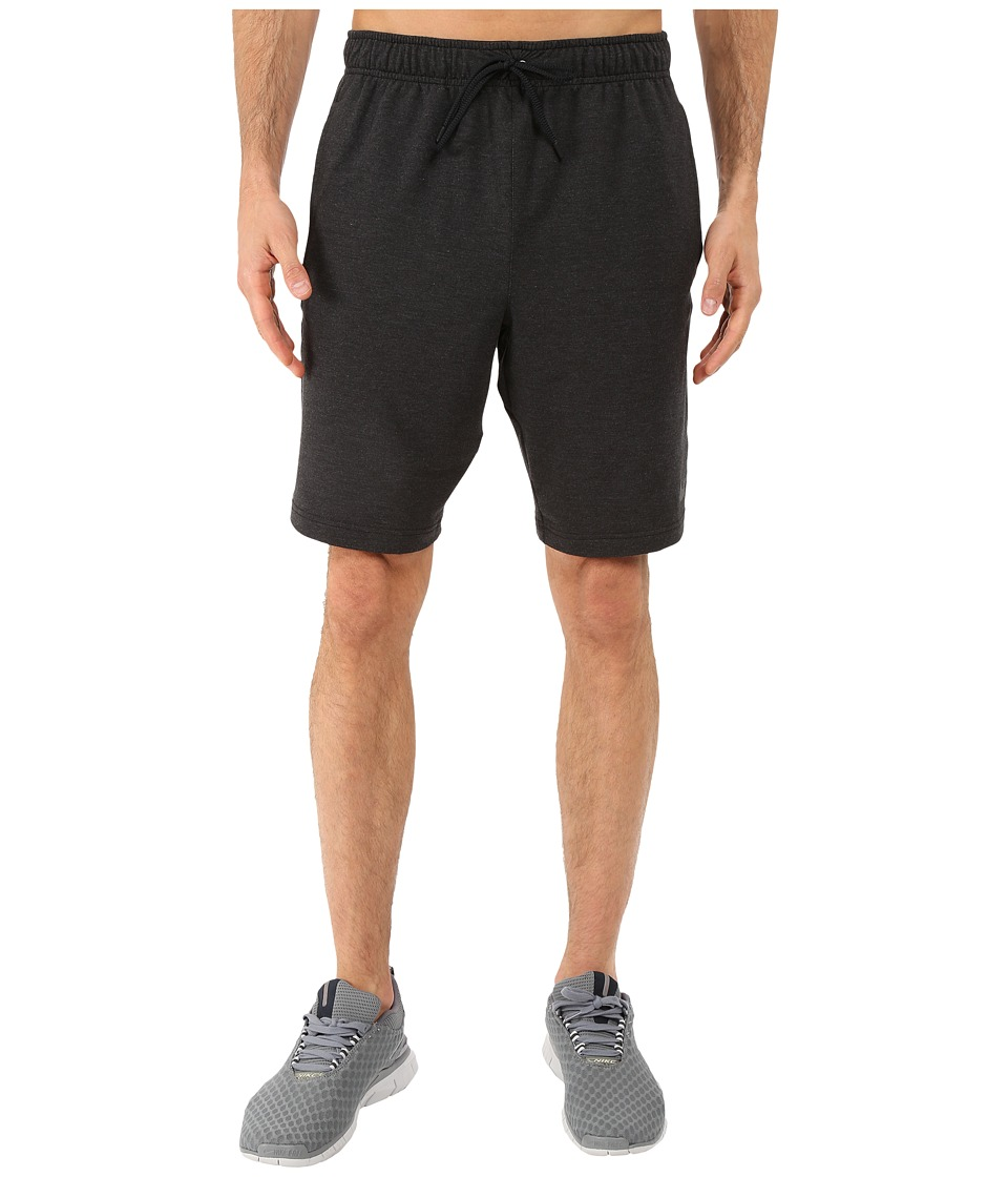 Nike Dri-FITtm Fleece Training 8 Short (Black/Black) Men
