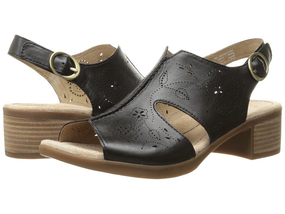 Dansko Lisa Black Veg Womens Sandals