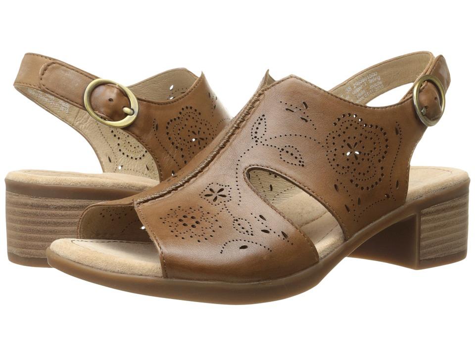 Dansko Lisa Camel Veg Womens Sandals