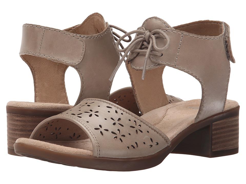 Dansko Liz Taupe Antiqued Calf Womens Sandals