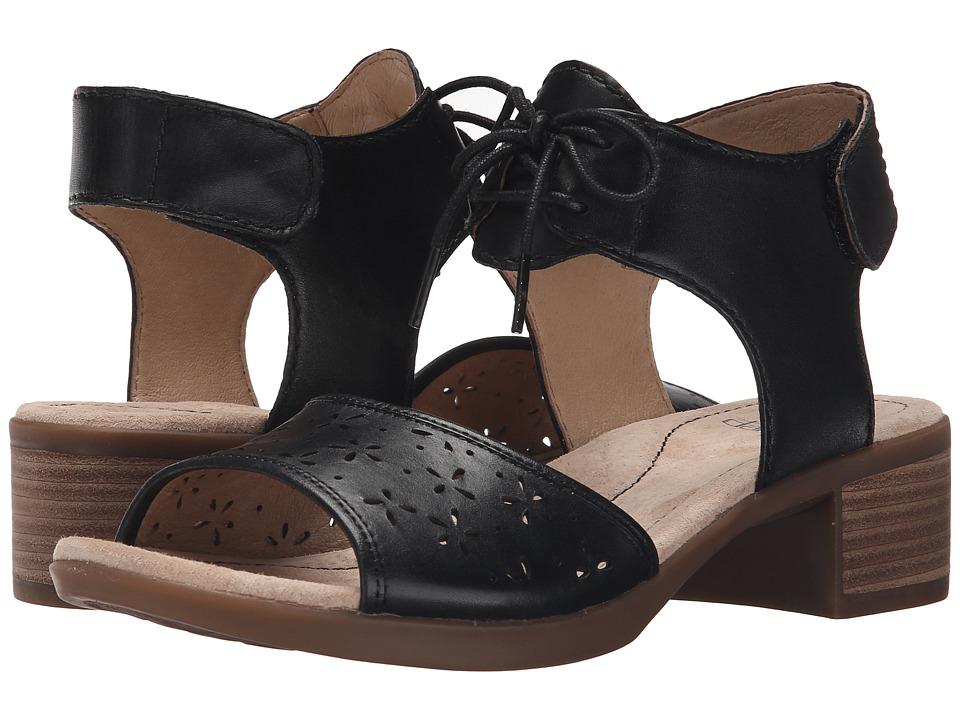 Dansko Liz Black Veg Womens Sandals