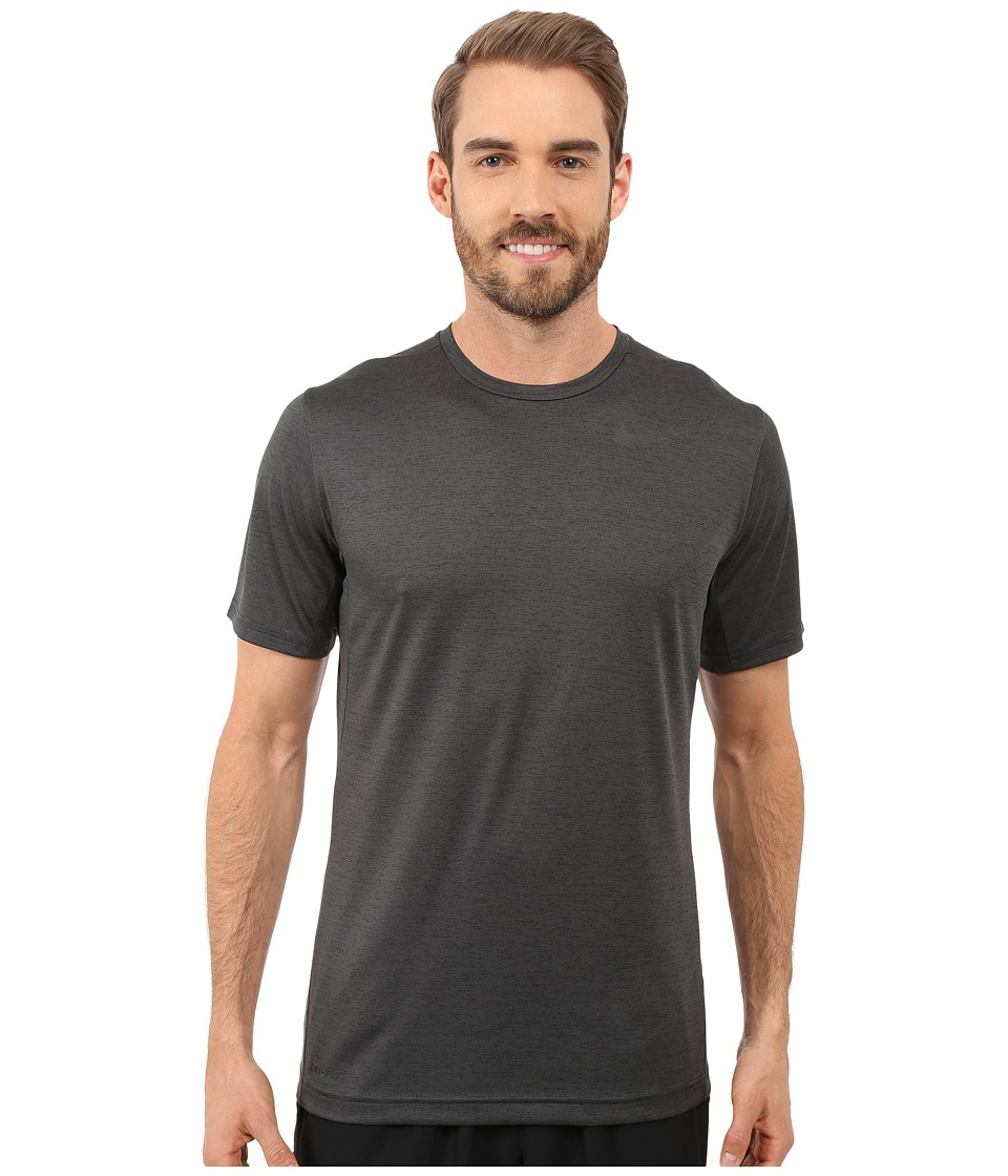 Nike Dri-FIT Training Shirt (Black/Black) Men