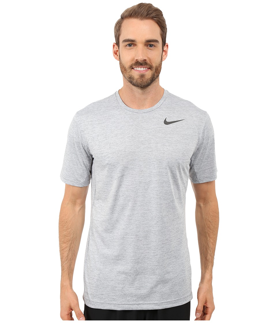 Nike Dri-FITtm Training Shirt (Cool Grey/Black) Men