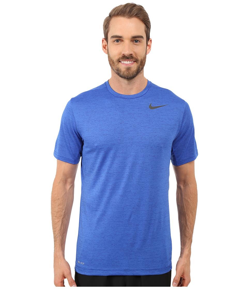 Nike Dri-FIT Training Shirt (Game Royal/Black) Men