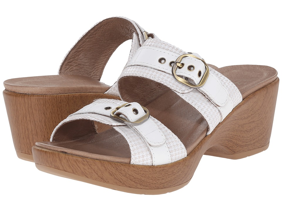 Dansko Jessie (White Multi) Women