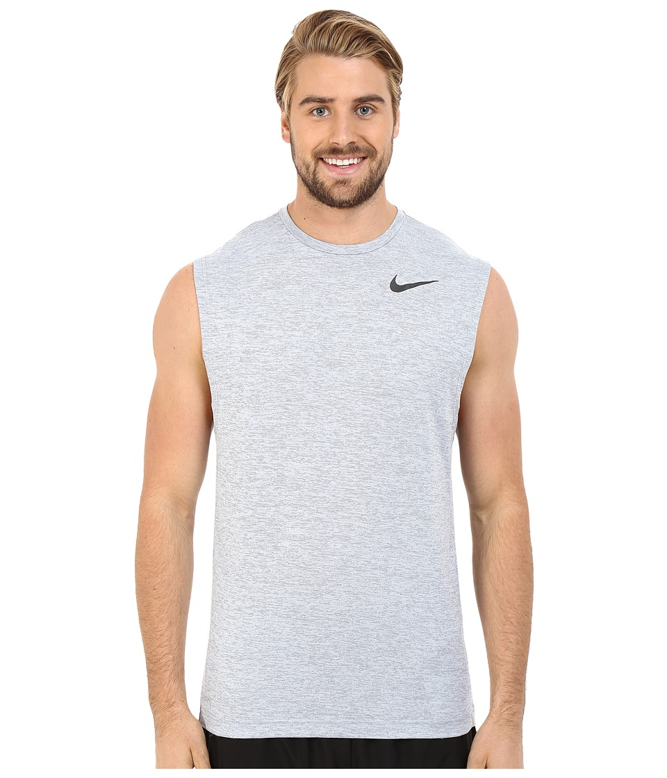 Nike Dri-FIT Training Muscle Tank Top (Cool Grey/Black) Men