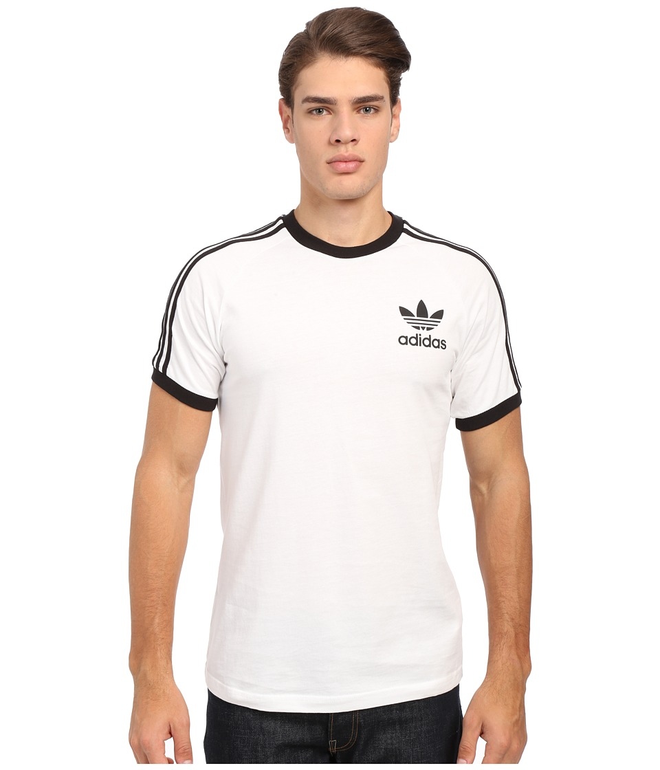 adidas Originals California Tee White/Black Mens T Shirt