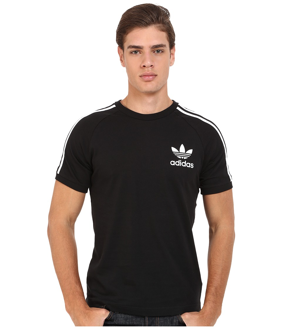 adidas Originals California Tee Black/White Mens T Shirt