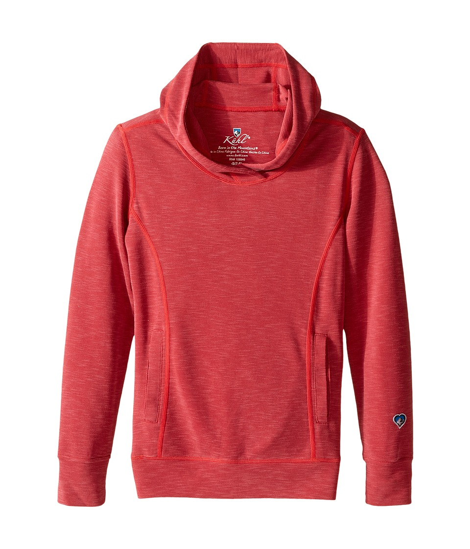 Kuhl Kids Moongazer Hoodie Little Kids/Big Kids Ruby Girls Sweatshirt