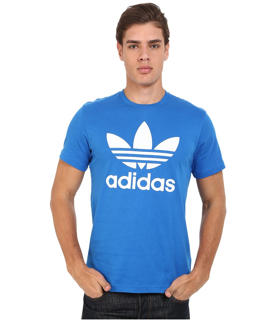 adidas Originals Originals Trefoil Tee Bluebird/White Mens T Shirt