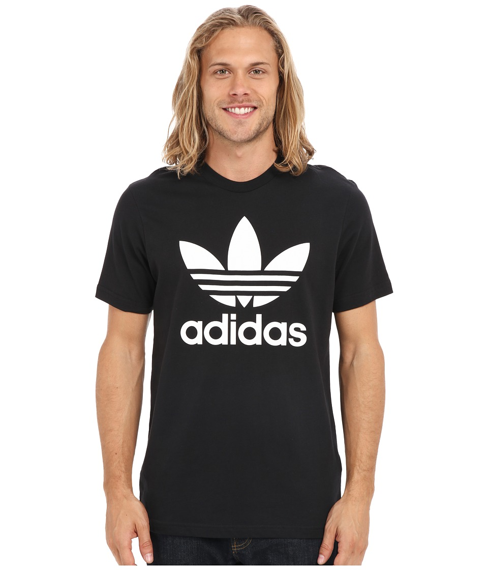 adidas Originals Originals Trefoil Tee Black/White Mens T Shirt