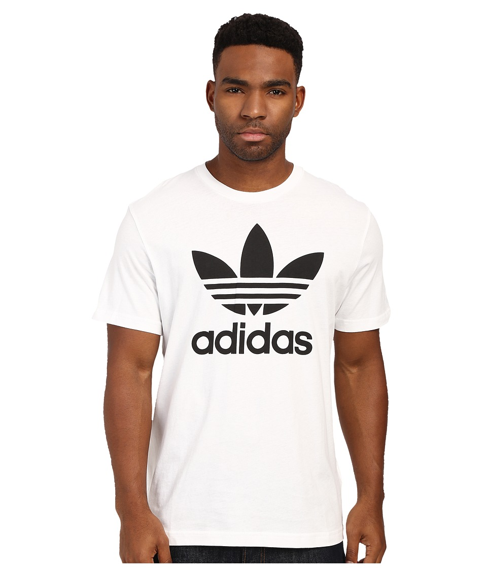 adidas Originals Originals Trefoil Tee White/Black Mens T Shirt