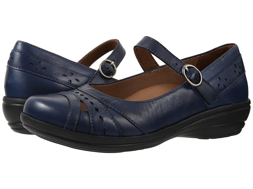 Dansko Mathilda Blue Veg Womens Maryjane Shoes