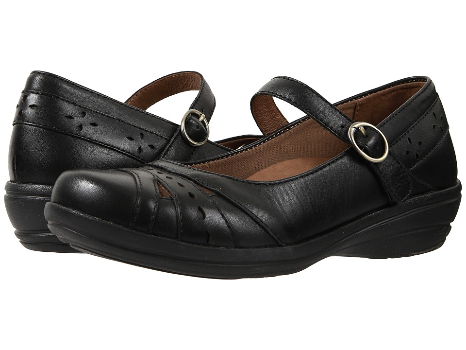 Dansko Mathilda (Black Veg) Women