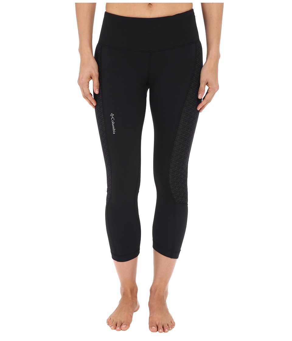 Columbia Trail Flashtm Capri Pants (Black) Women