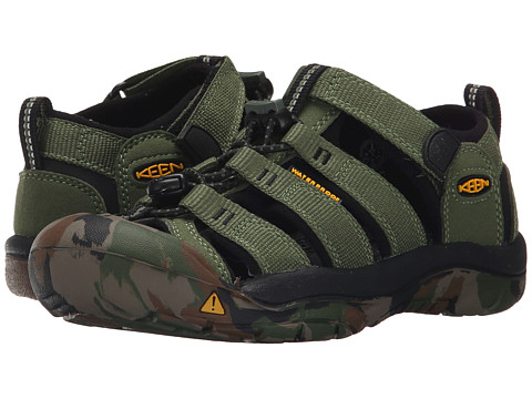 Keen Kids Newport H2 (Little Kid/Big Kid) - Crushed Bronze Green