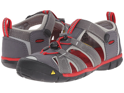 Keen Kids Seacamp II CNX (Little Kid/Big Kid) - Magnet/Racing Red