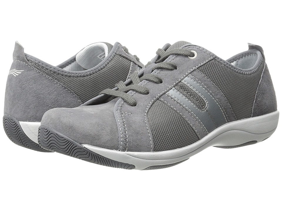 Dansko Heidi Pewter Suede Womens Shoes