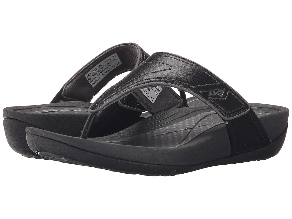 Dansko Katy 2 Black/Grey Smooth Womens Sandals