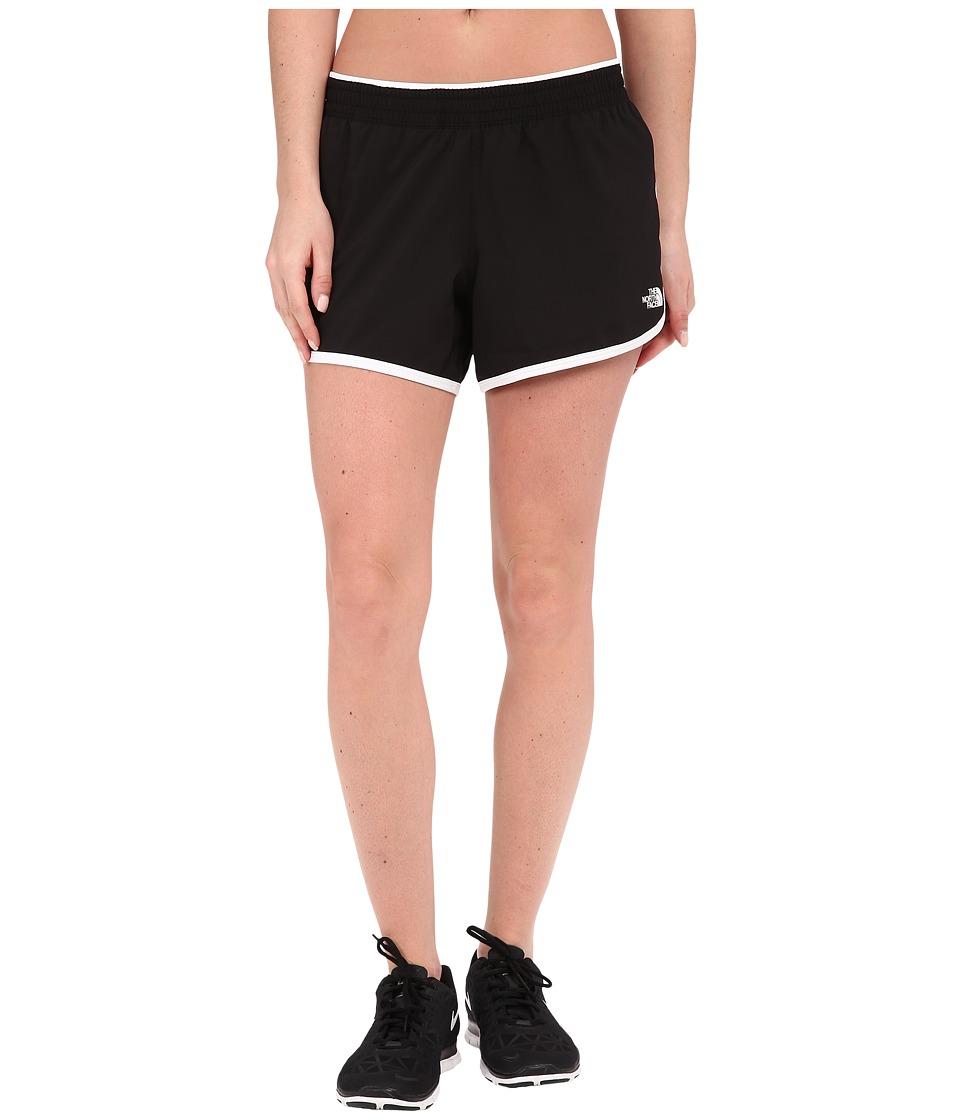 The North Face - Reflex Core Shorts (TNF Black/TNF White) Womens Shorts