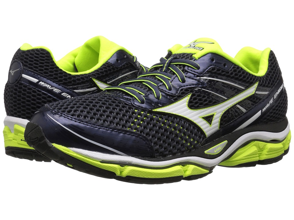 Mizuno Wave Enigma 5 Ombre Blue/White/Safety Yellow Mens Running Shoes
