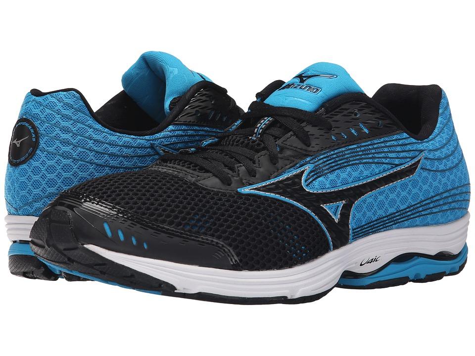 Mizuno - Wave Sayonara 3 (Black/Atomic Blue/Black) Mens Running Shoes