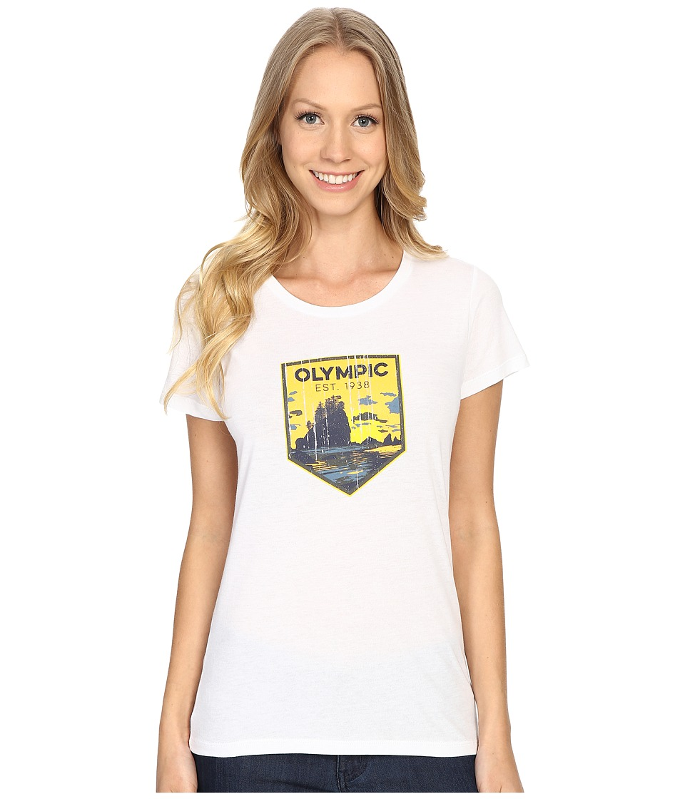 Columbia - National Parks Tee (White/Olympic) Women