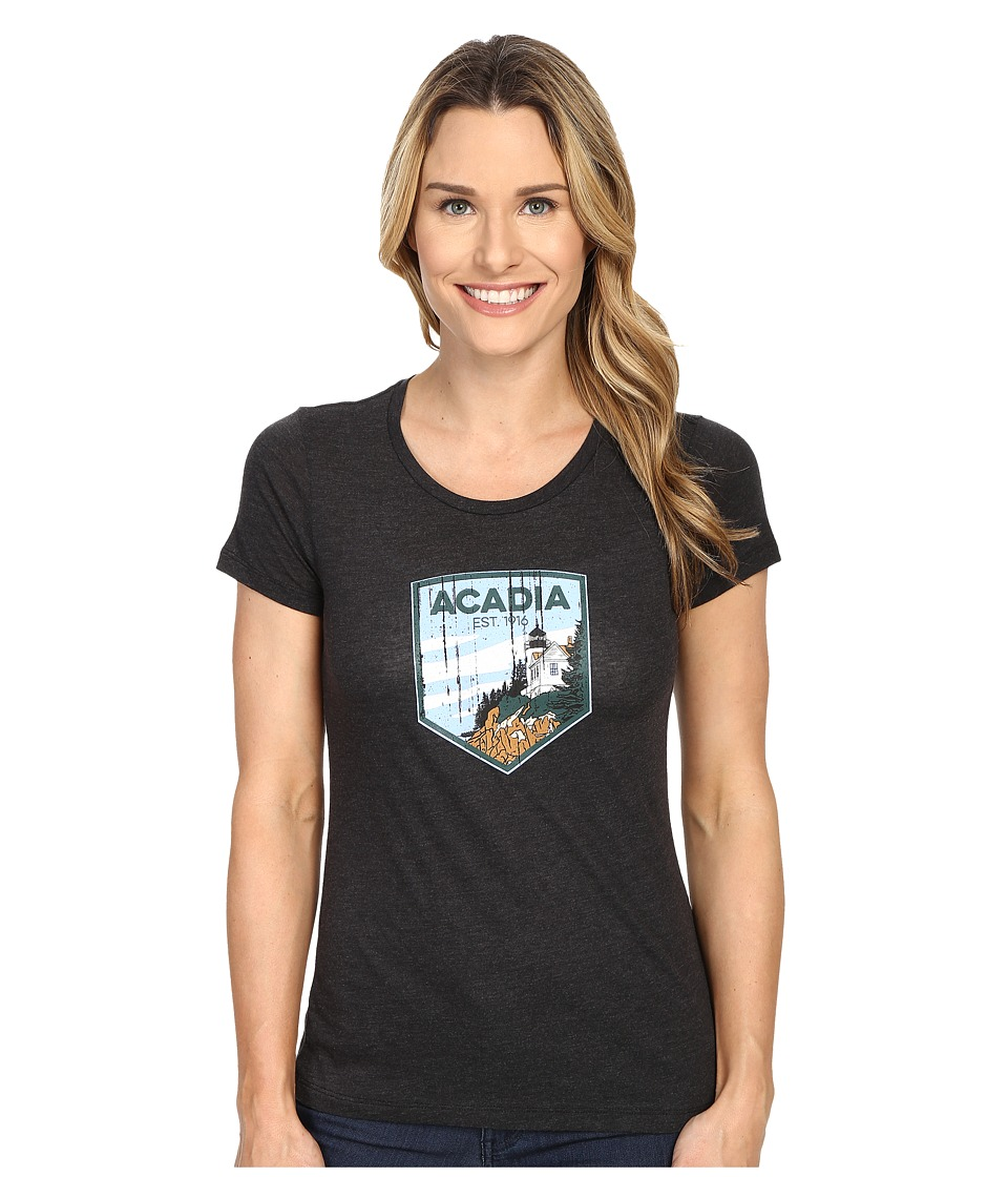 Columbia - National Parks Tee (Grey Heather/Acadia) Women