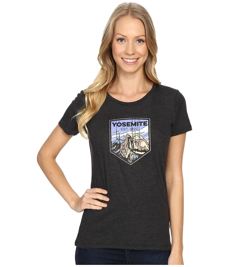 Columbia - National Parks Tee (Grey Heather/Yosemite) Women
