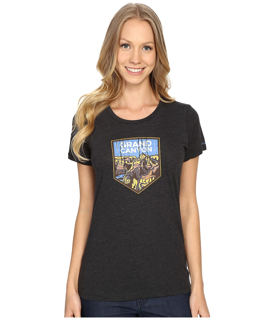 Columbia - National Parks Tee (Grey Heather/Grand Canyon) Women