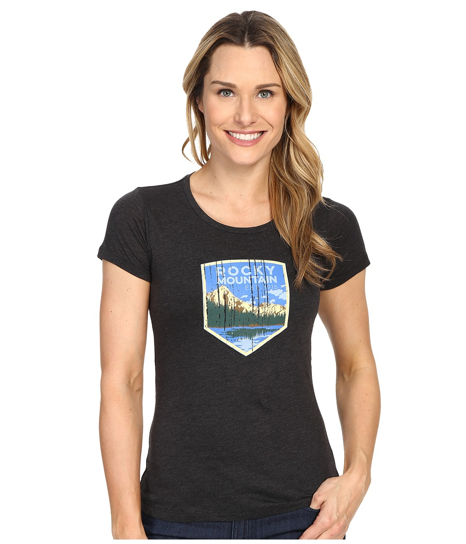 Columbia - National Parks Tee (Grey Heather/Rocky Mountain) Women