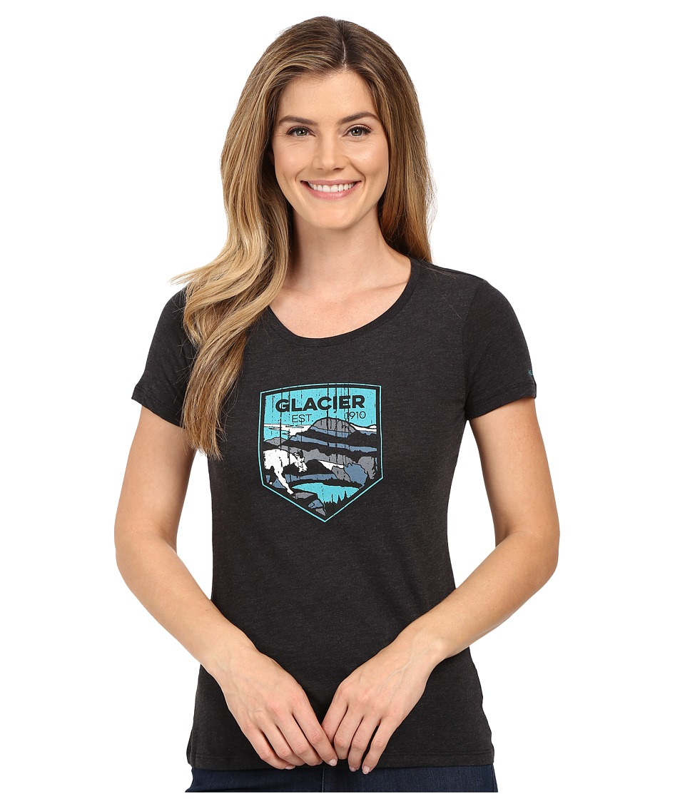 Columbia - National Parks Tee (Grey Heather/Glacier) Women