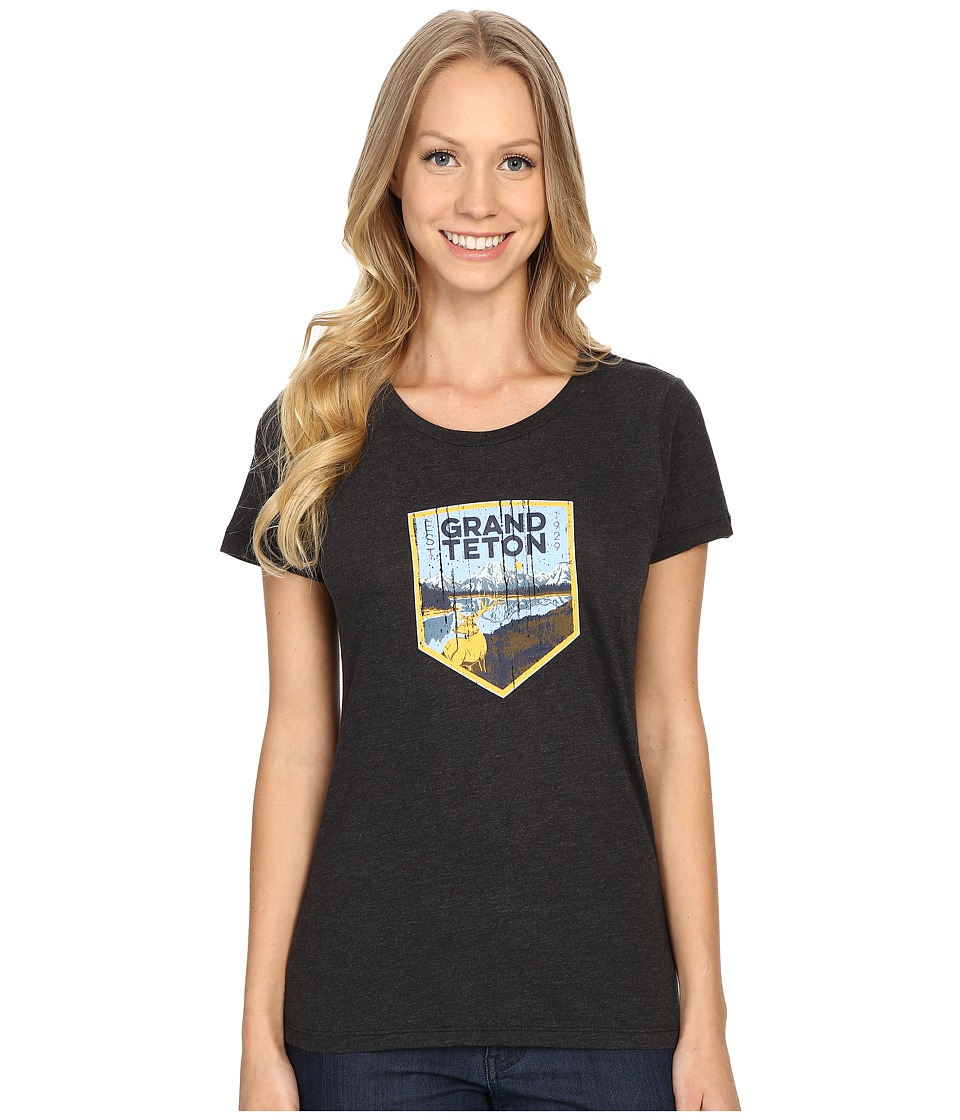 Columbia - National Parks Tee (Grey Heather/Grand Teton) Women