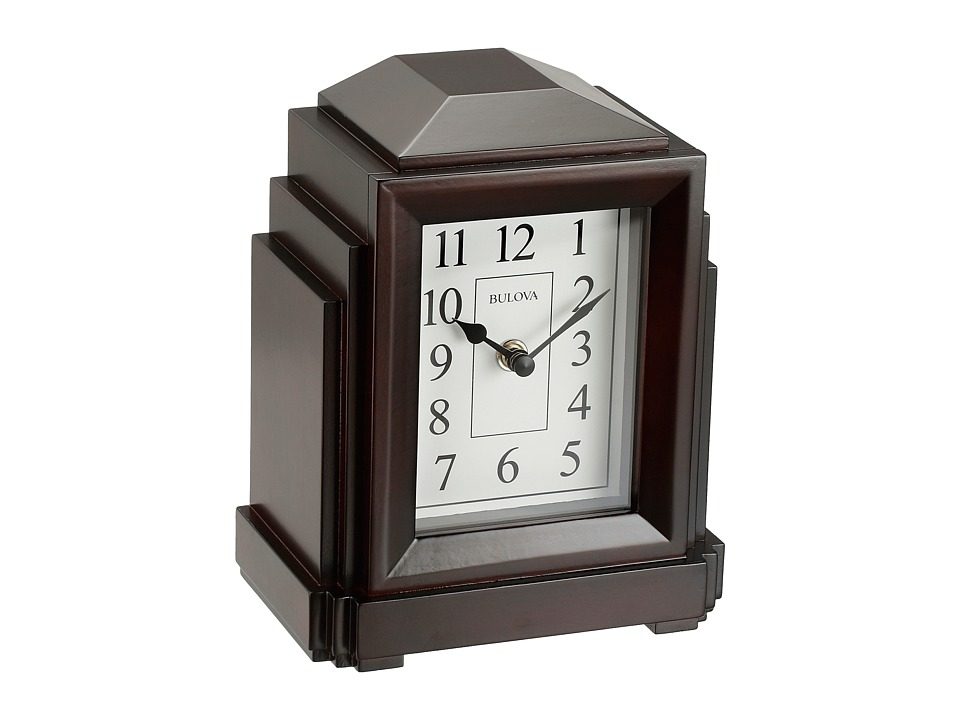 Bulova - Bluetooth Enabled Clock - B6218 (Brown) Watches