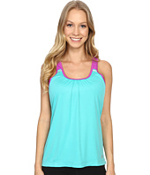 New Balance - Perforated Mesh Striped Tank Top