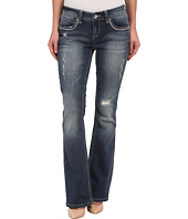 Seven7 Jeans - Thick Stitch Bootcut Jeans in Siren Blue