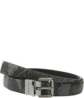 Cole Haan - 25mm Reversible Printed Snake to Silk Calf Belt