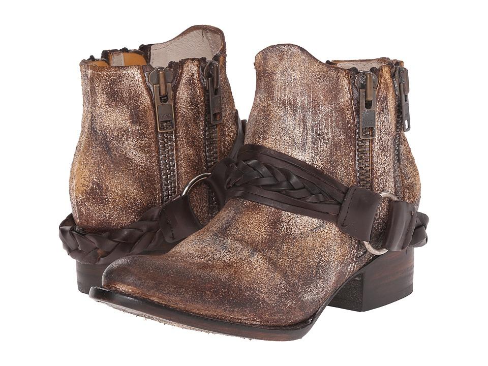 Freebird Clash Cognac Womens Zip Boots