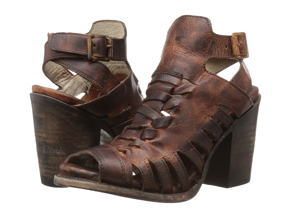 Freebird Bongo Cognac High Heels
