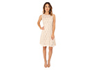 rsvp Nora Fit and Flare Dress (Champagne)