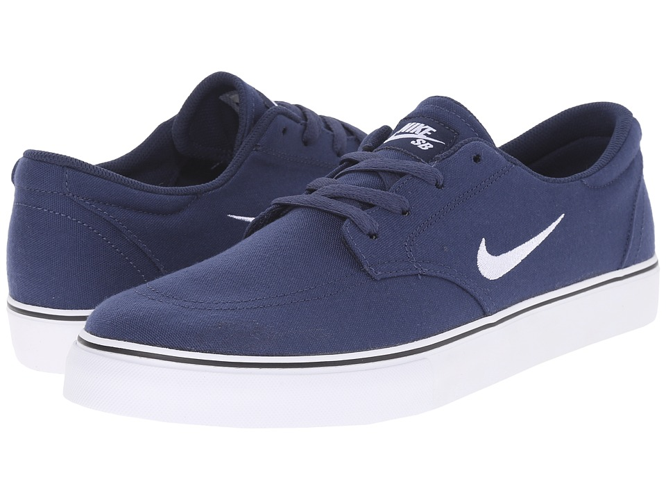 Nike SB Clutch (Midnight Navy/Black/Gum Light Brown/White) Men