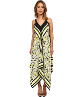 Christin Michaels - Scarf Print Maxi Dress