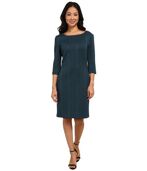 Christin Michaels Maurizia Knit Wedge Dress