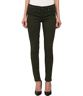 Seven7 Jeans - Twill Seamed Leggings in Army Green