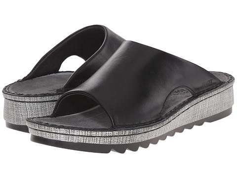 Naot Footwear Ardisia - Black Madras Leather