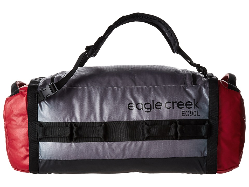 Eagle Creek - Cargo Hauler Duffel 90 L/L (Cherry/Grey) Duffel Bags