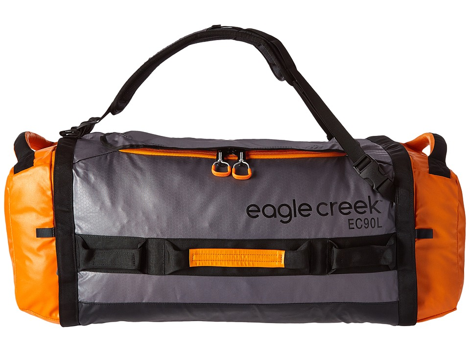 Eagle Creek - Cargo Hauler Duffel 90 L/L (Orange/Grey) Duffel Bags