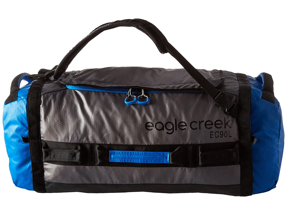 Eagle Creek - Cargo Hauler Duffel 90 L/L (Blue/Grey) Duffel Bags