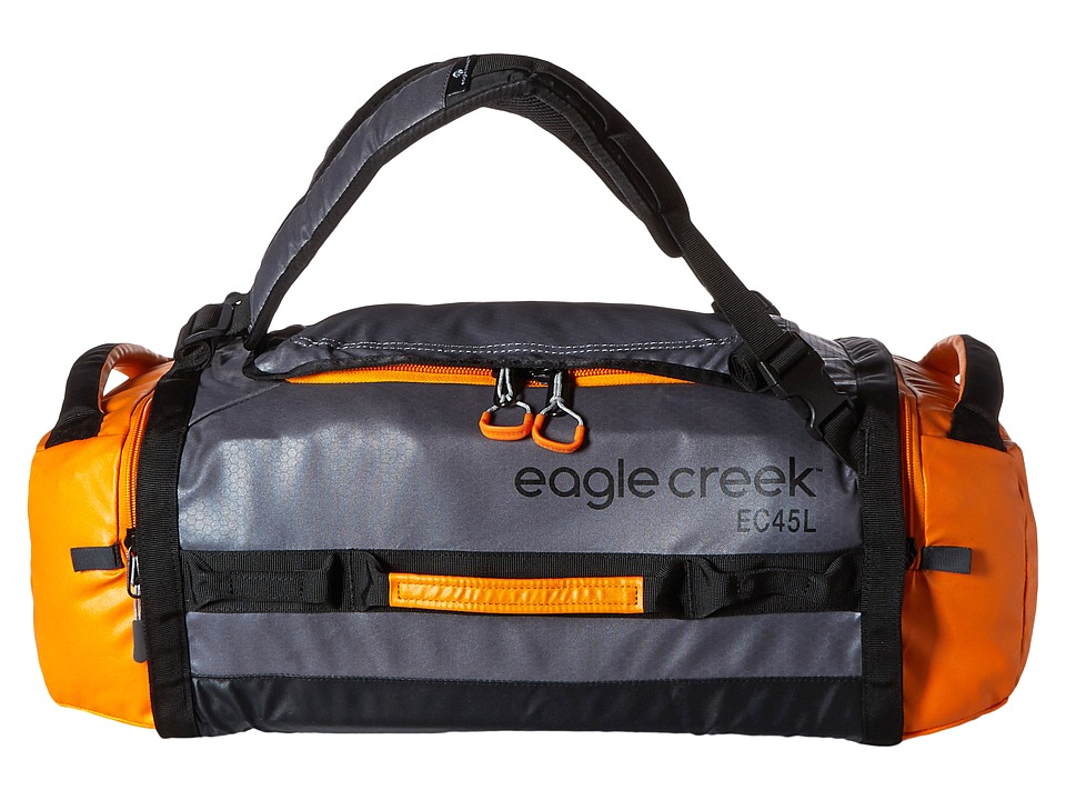 Eagle Creek - Cargo Hauler Duffel 45 L/S (Orange/Grey) Duffel Bags