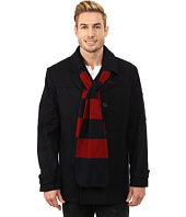 IZOD - Peacoat with Rugby Scarf